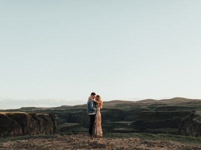Vlad+Jules// Palouse Falls Engagements