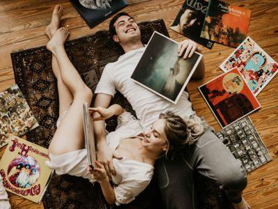 Myriah+Charlie At Home in Dallas TX
